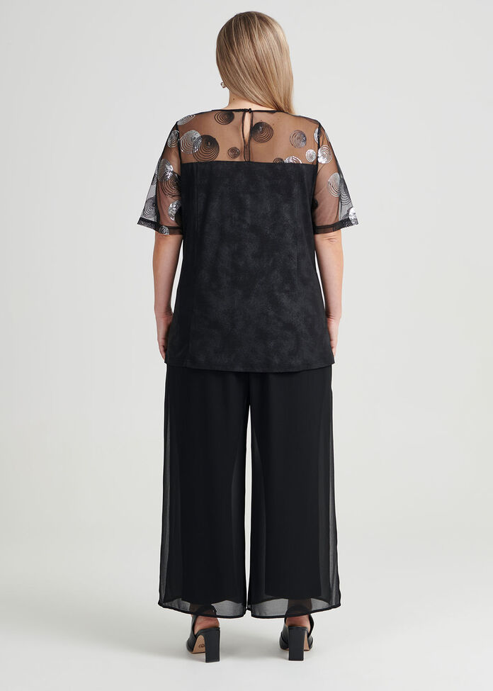 Evie Embroidered Knit Top, , hi-res