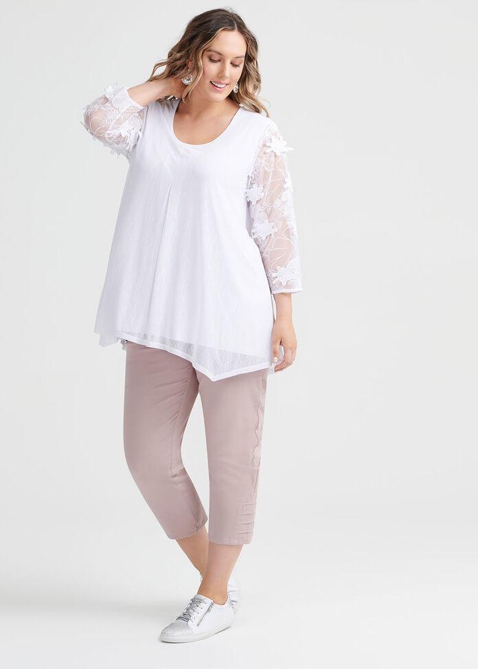 Bloom Lace Top, , hi-res