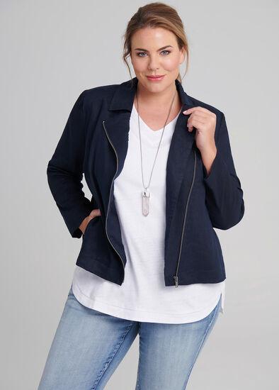 Romance Linen Jacket