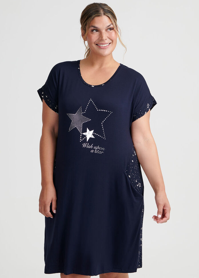 Splice Star Nightie, , hi-res