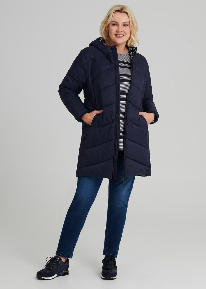 The Cocoon Puffer Jacket, , hi-res