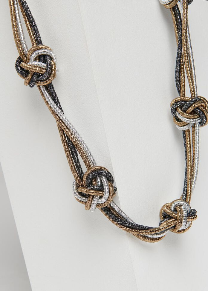 Stop Knot Necklace, , hi-res
