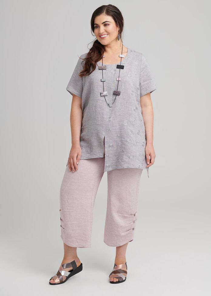 Mantra Linen Top, , hi-res