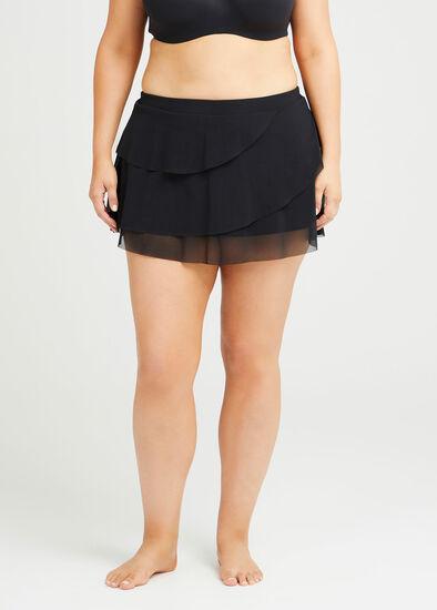 Mesh Skirt Brief