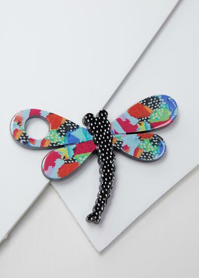 Dragonfly Glasses Brooch