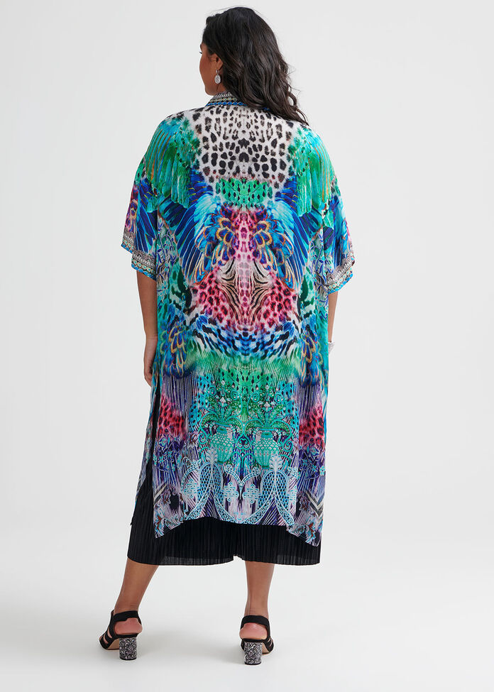 Dressed To Thrill Kimono, , hi-res
