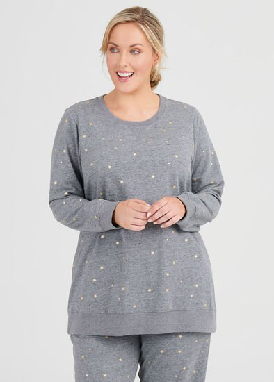 Mini Star Sweat Top