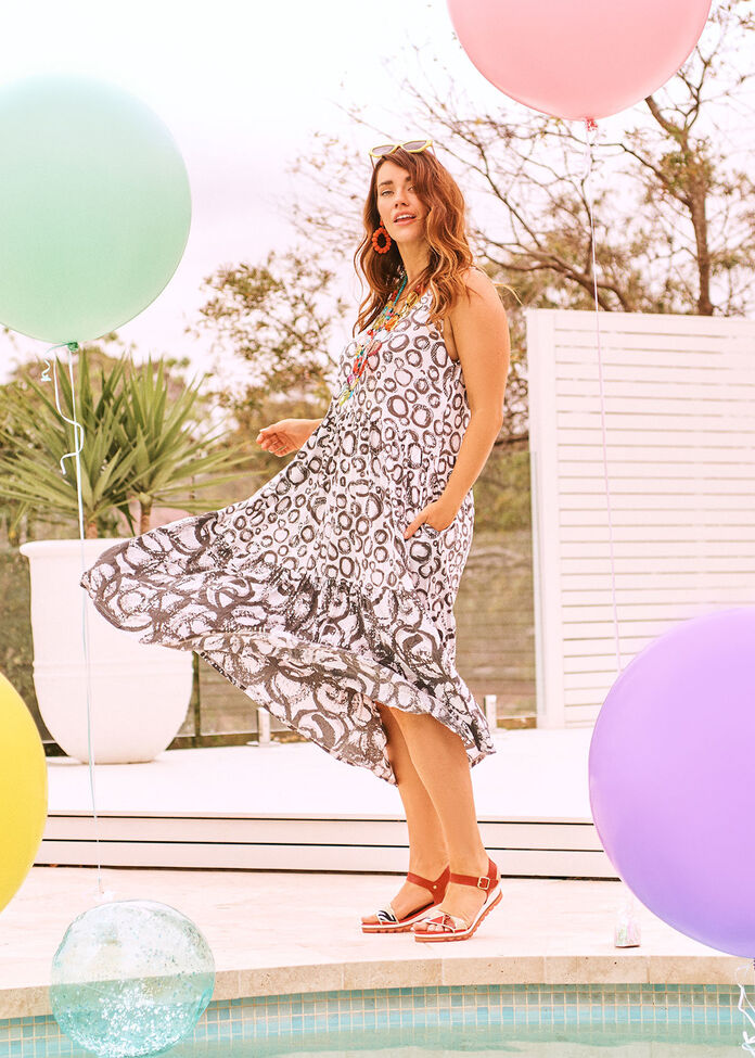 Radius Spot Modal Dress, , hi-res