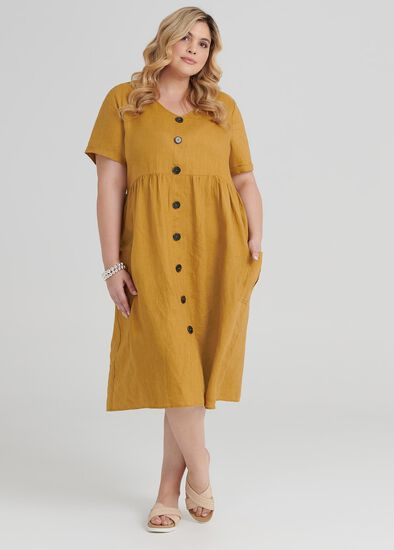 Sunrise Linen Dress