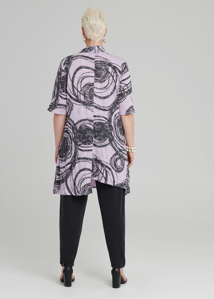 Runaround Modal Short Sleeve Tunic, , hi-res