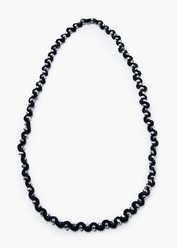 Black Velvet Necklace, , hi-res