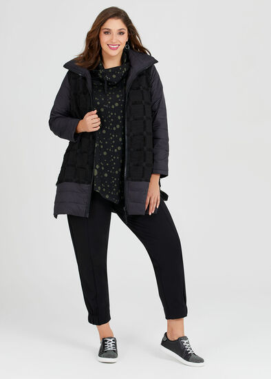 Trifecta Puffer Coat