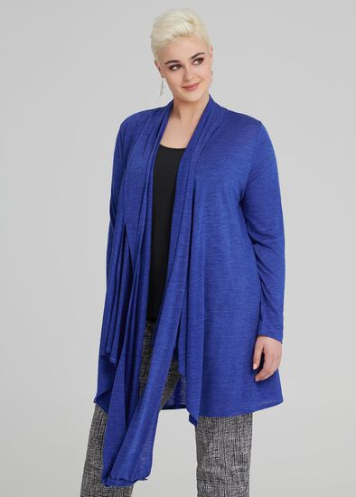Winter Blues Wool Cardi