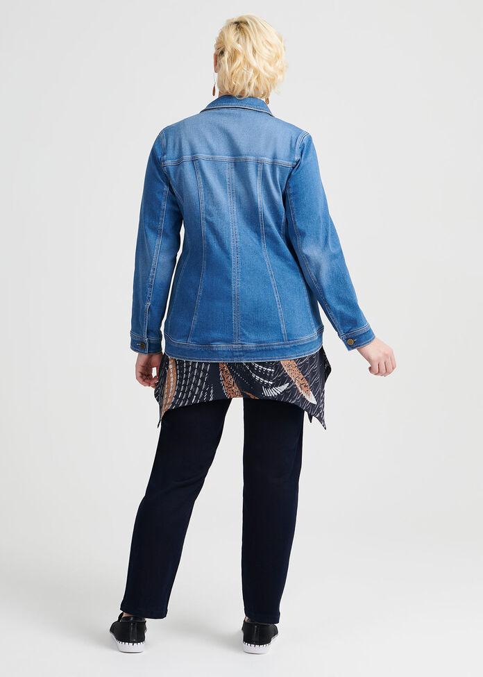 The Bamboo Denim Jacket, , hi-res