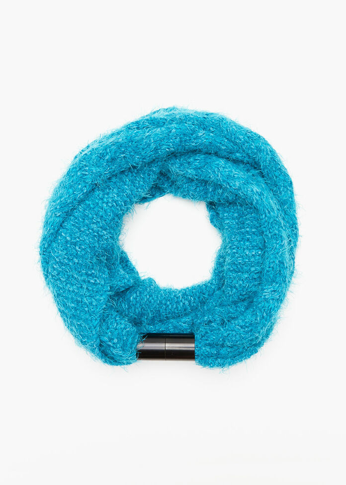 Chenille Magnetic Scarf, , hi-res
