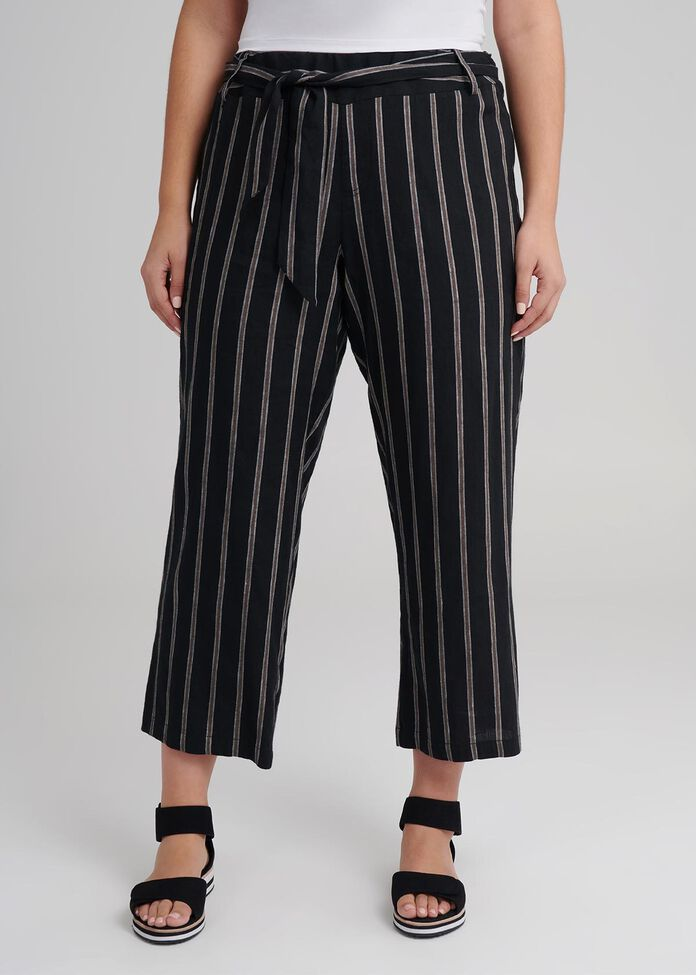 Linen Borderline Pant, , hi-res