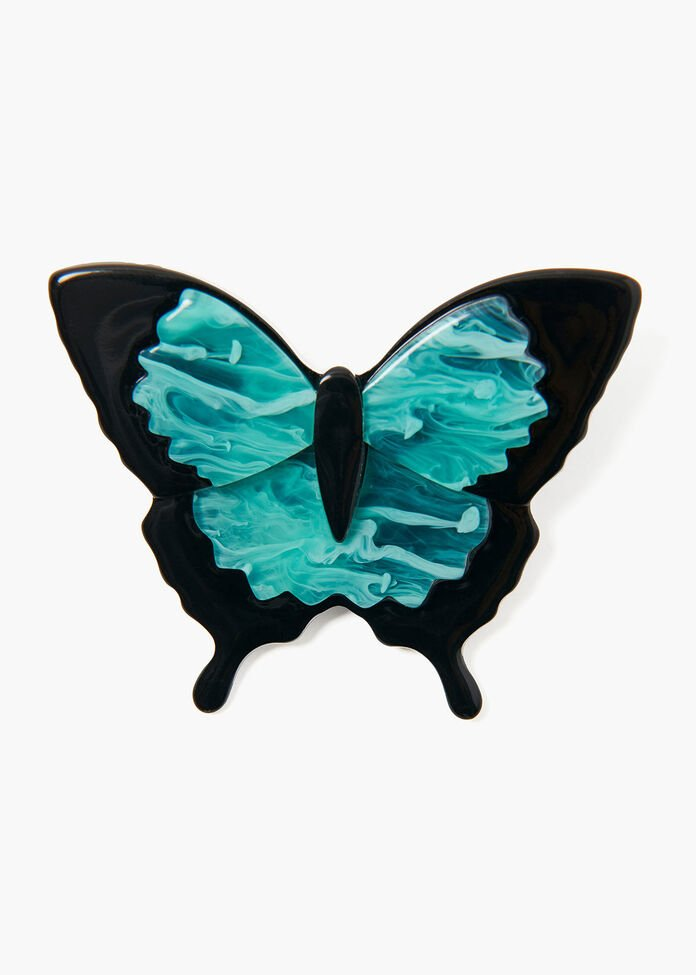 All A Flutter Brooch, , hi-res