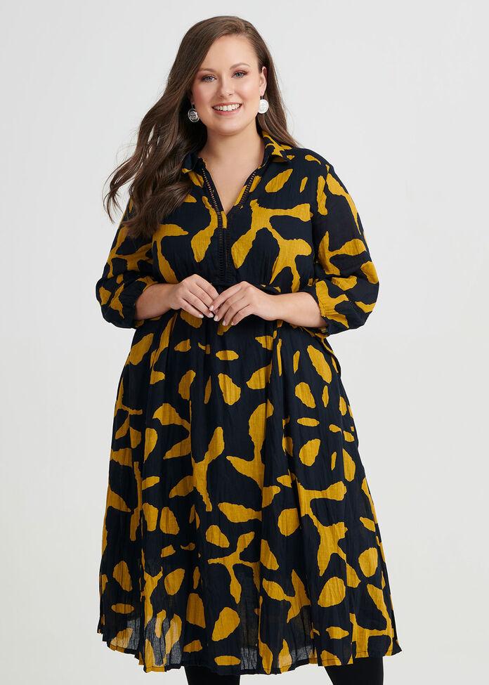 Autumn Leaf Dress, , hi-res