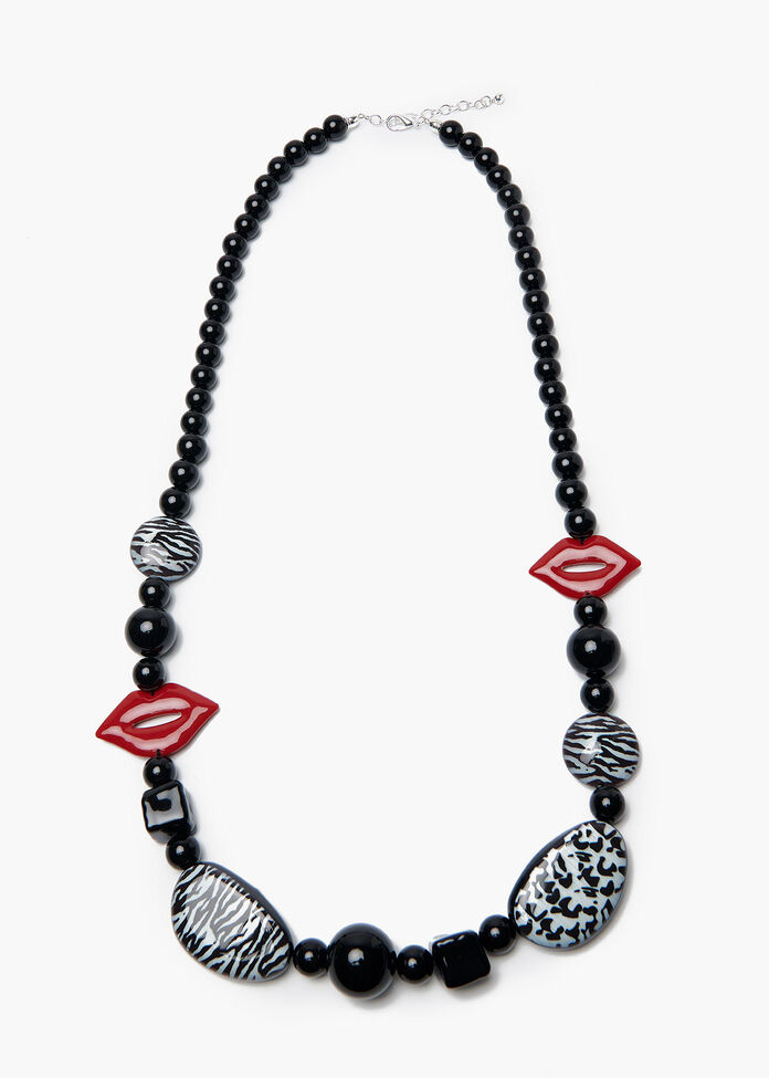 Kiss And Tell Necklace, , hi-res