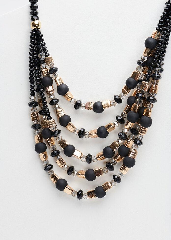 Back In Black Necklace, , hi-res