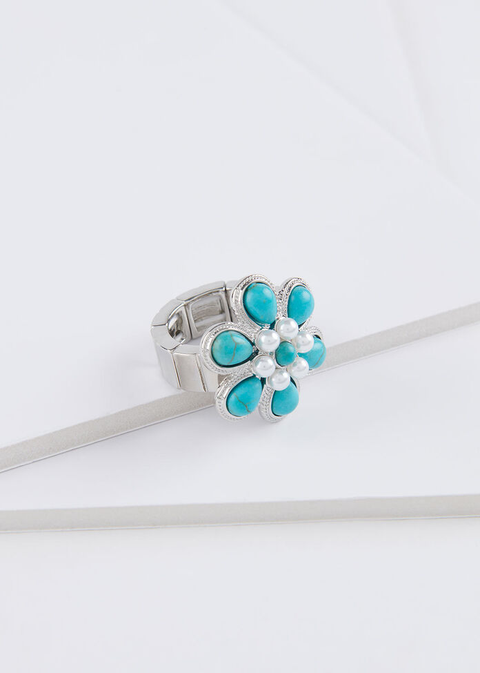 Flower Power Ring, , hi-res