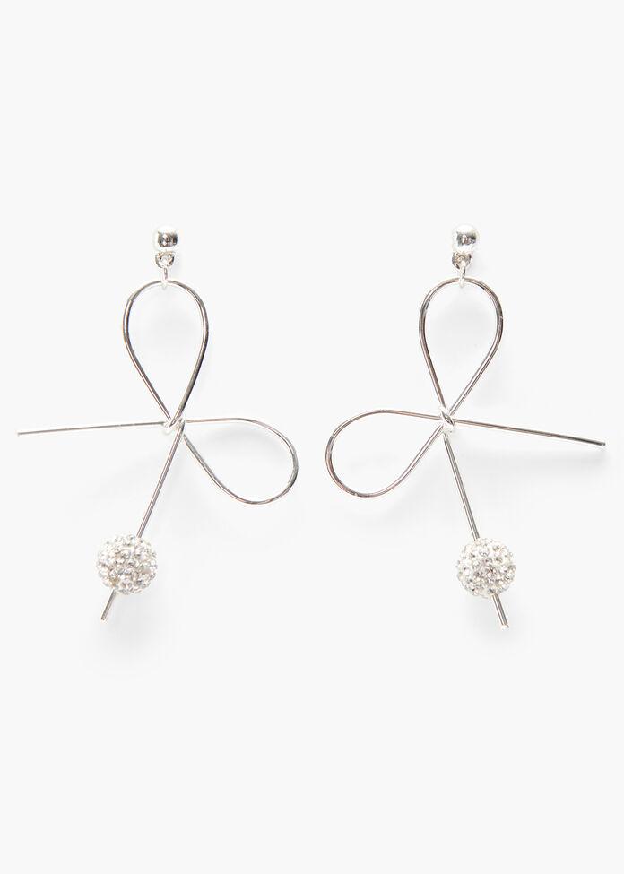 Little Bow Earrings, , hi-res