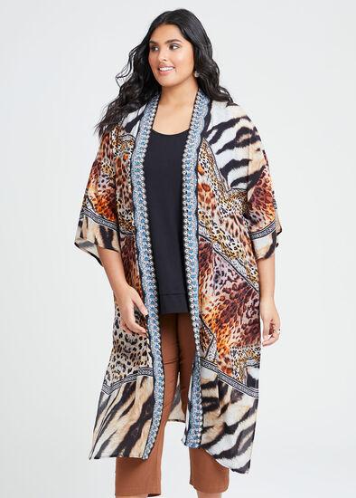 Natural Wild Side Kimono