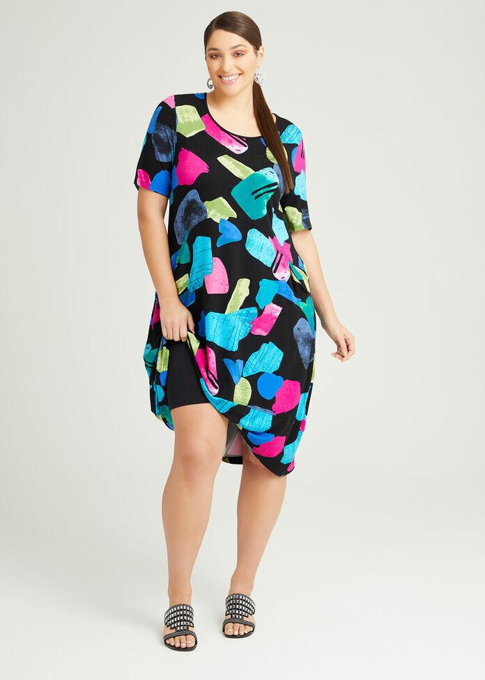 Bamboo Mimosa Pocket Dress, , hi-res