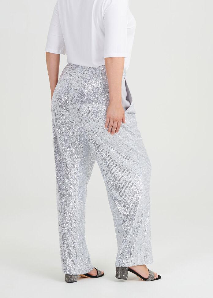 Sparkle And Shine Wide Leg Pant, , hi-res