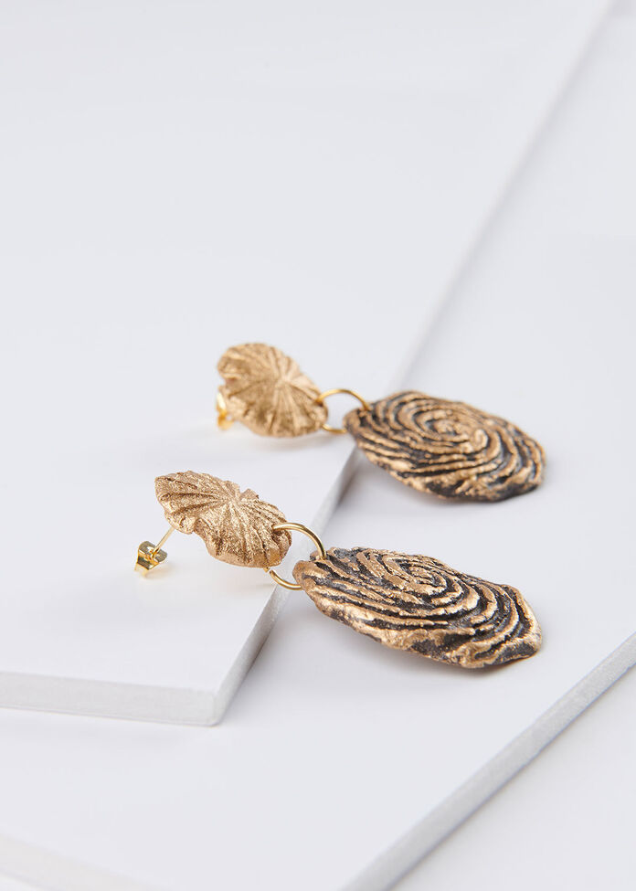 Paper Swirl Earrings, , hi-res