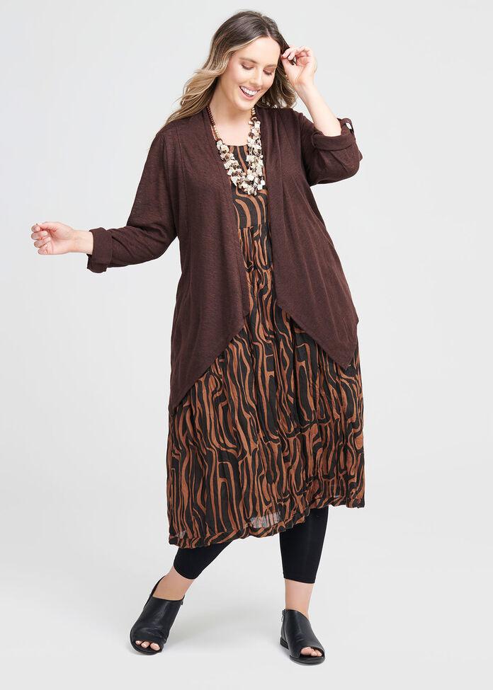 Cotton Tribal Print Dress, , hi-res