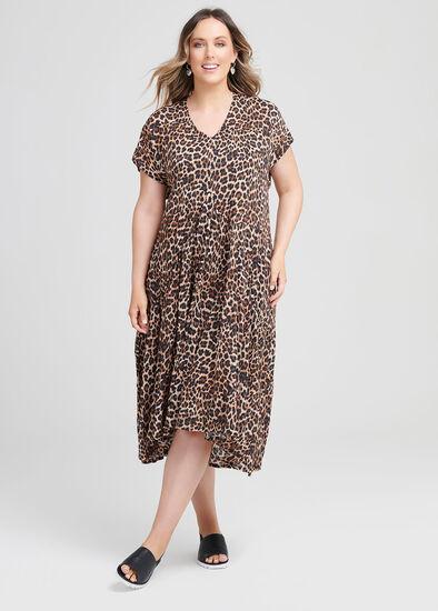 Natural Leopard Dress