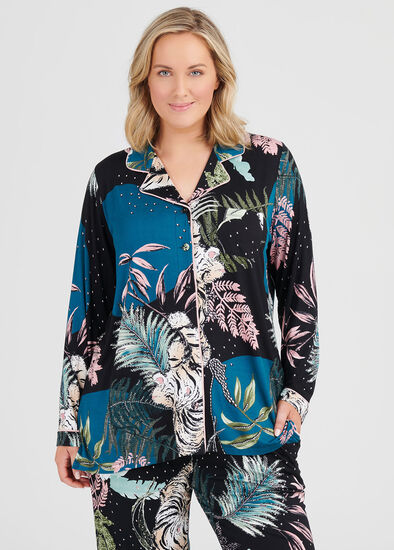 Bamboo Jungle Pj Top
