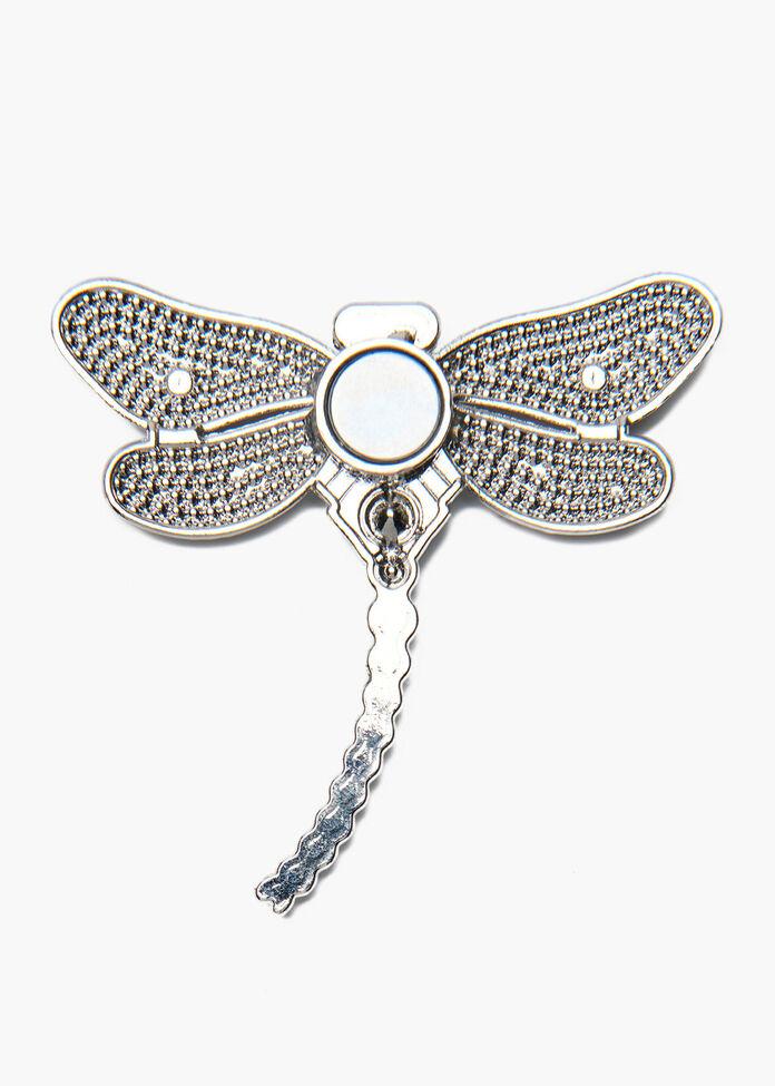 Dragonfly Brooch, , hi-res