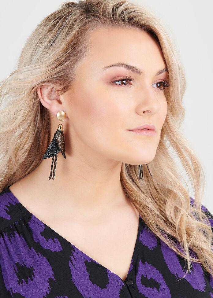 Lady Luxe Earrings, , hi-res
