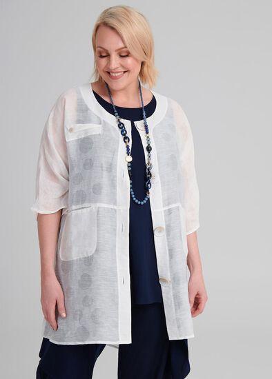 Jasmin Spot Linen Shirt