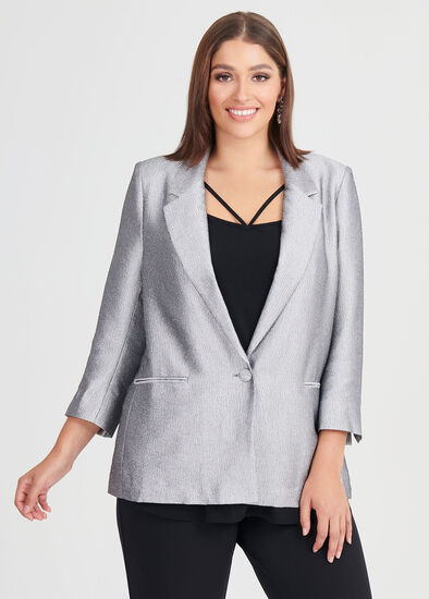 Pewter Lined Jacket