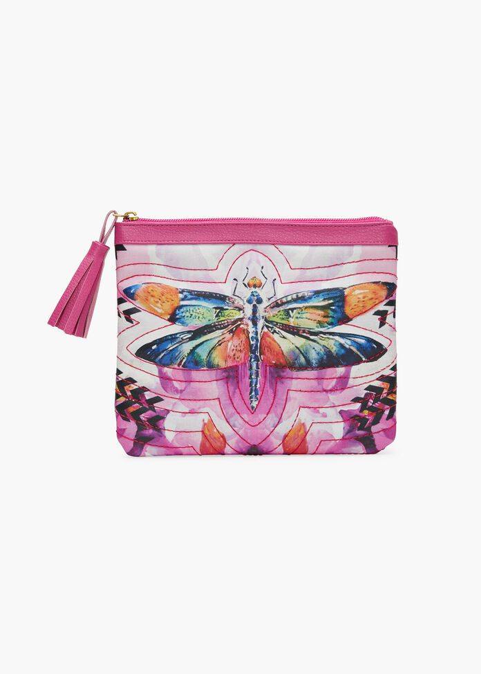 Quilted Clutch, , hi-res