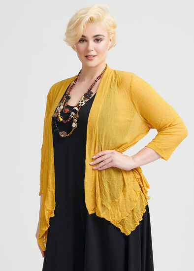 Take Cover Mesh Cardi
