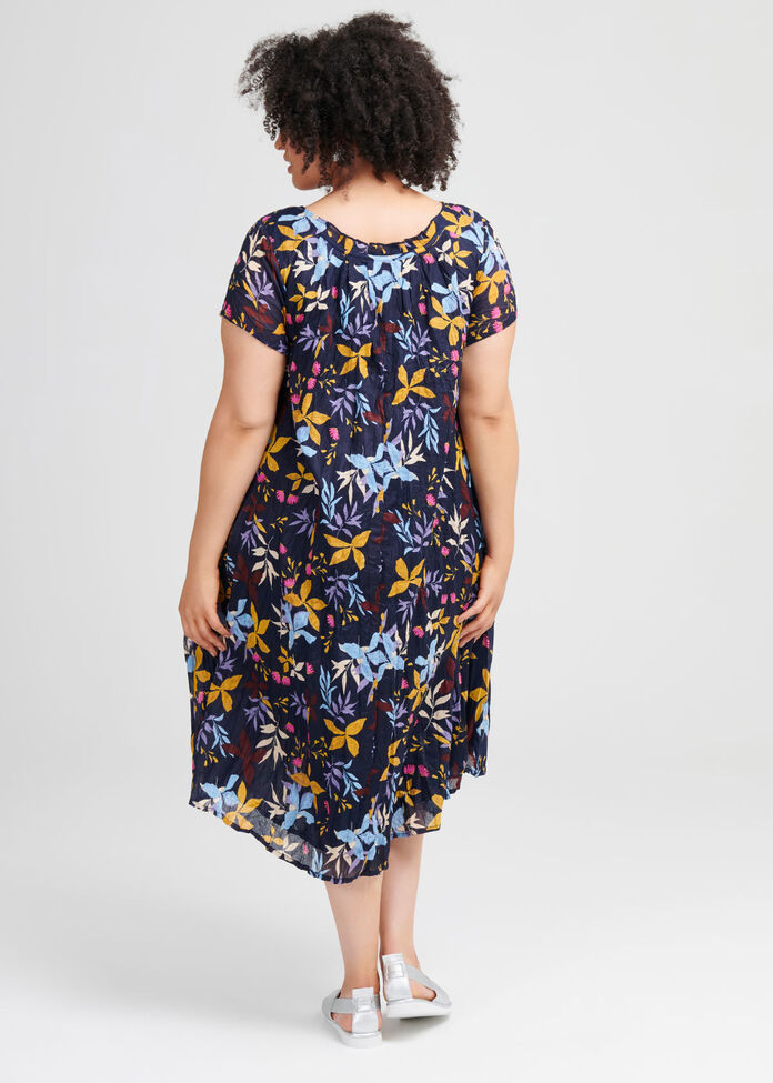 Cotton Spin Me Dress, , hi-res