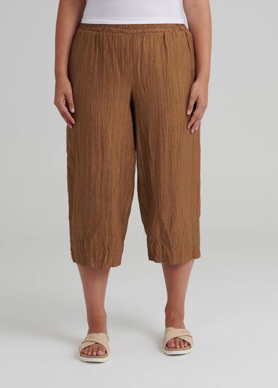 Jali Bamboo Crop Pant