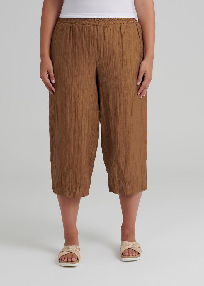 Jali Bamboo Crop Pant, , hi-res