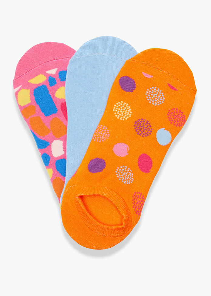 Set/3 Bamboo Print Socks, , hi-res