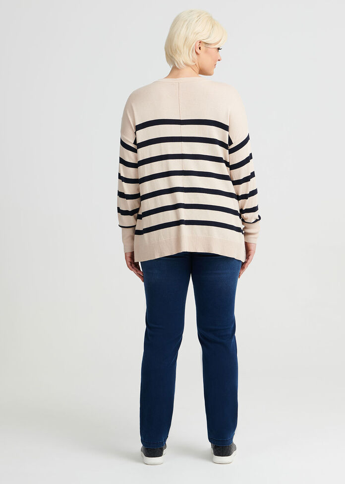 Dreamers Stripe Jumper, , hi-res