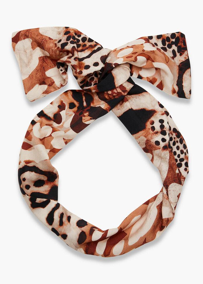 Animal Print Headband, , hi-res