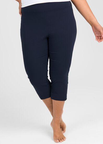 Trapeze Slim Crop Pant