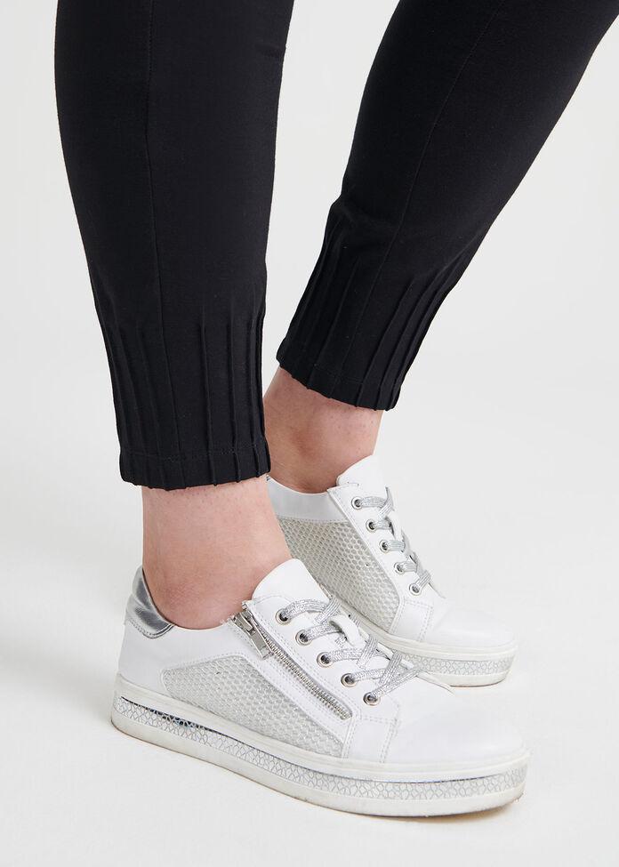 Organic Pintuck Legging, , hi-res