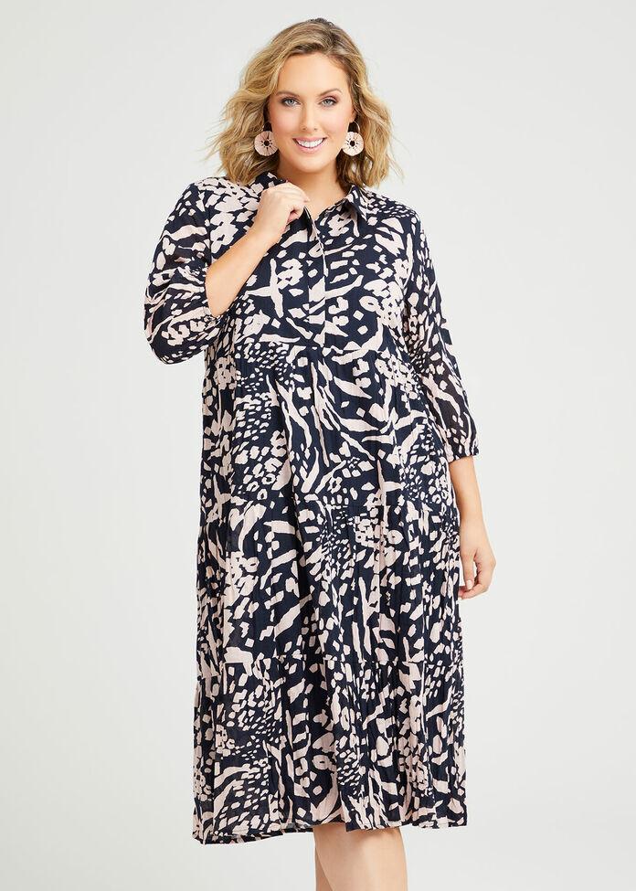 Cotton Samara Dress, , hi-res