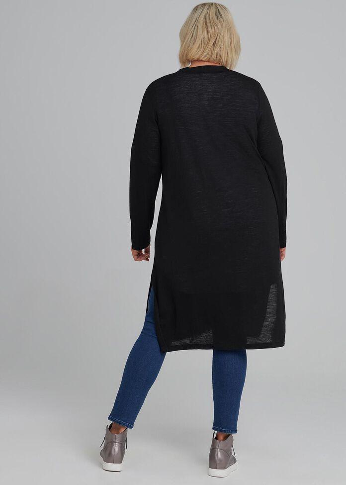 Solstice Wool Cardi, , hi-res