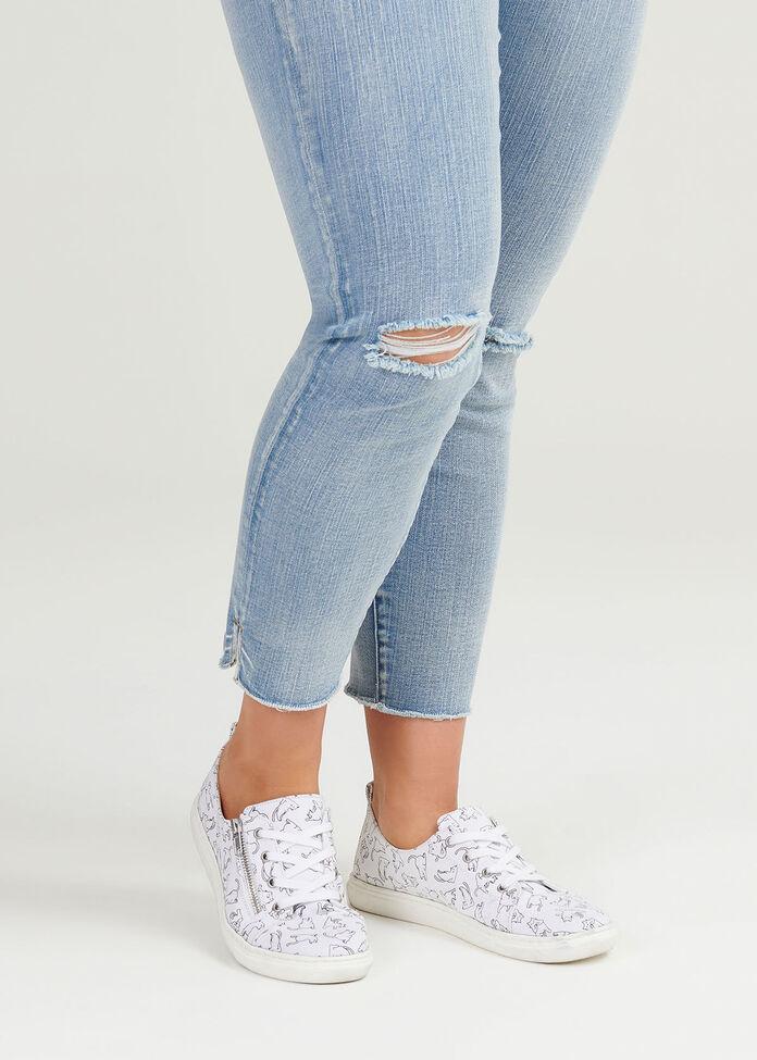 Here Kitty Sneaker, , hi-res